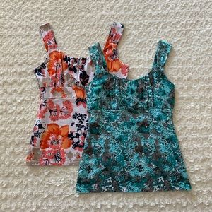 Ann Taylor bundle of 2 tanks